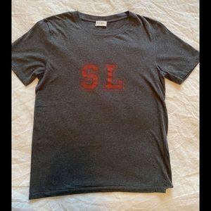 SAINT LAURENT university t shirt